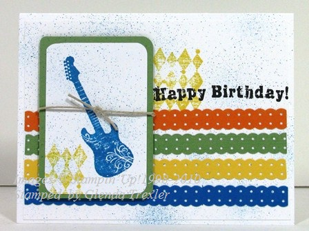 stamp with glenda teenage birthday cards, Birthday card